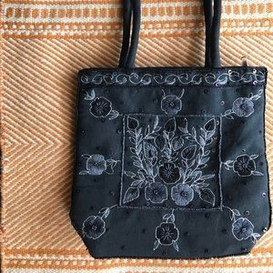 Free w/ purchase Vintage Beaded Floral Bag